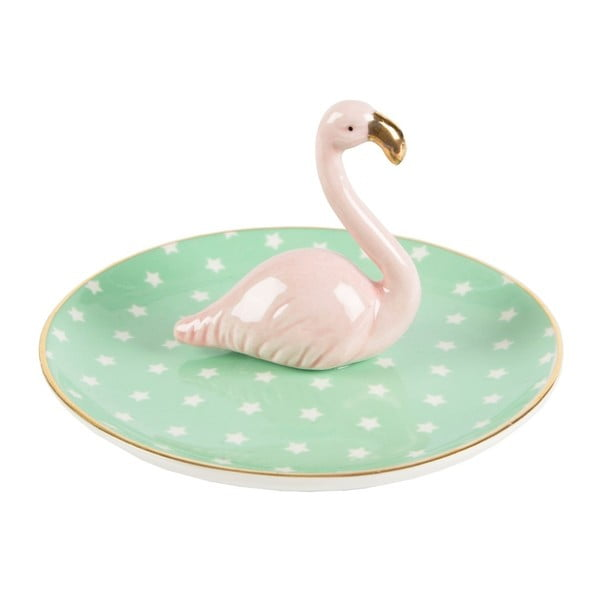 Kamionkowa podkładka na biżuterię Sass & Belle Tropical Flamingo