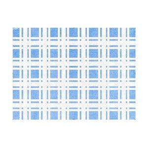 Koberec Escocés 160x120 cm, modrý