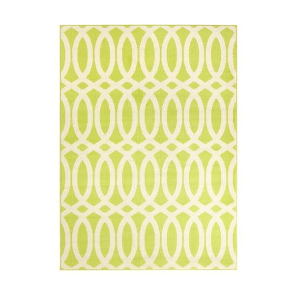 Zelený koberec Schweda, 200x290 cm