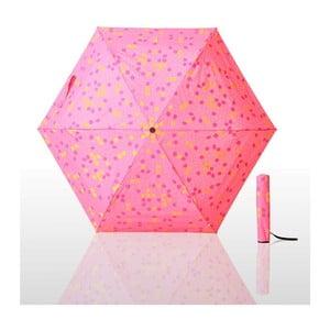 Skládací deštník Waterlock, růžový