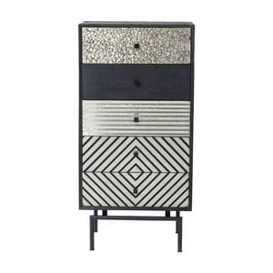 Comodă cu 5 sertare din lemn de mango Kare Design Art House