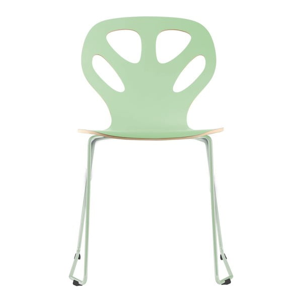 Židle Maple, mentolová