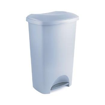 Coș de gunoi din plastic reciclat Addis Eco Range, 50 l, gri poza