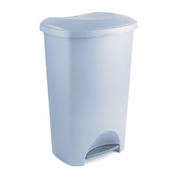 Coș de gunoi din plastic reciclat Addis Eco Range, 50 l, gri