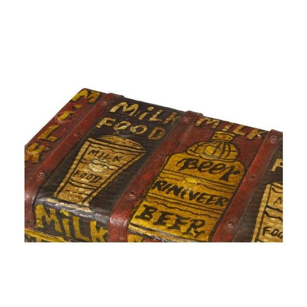 Kufr Orient 36x67 cm, Beer