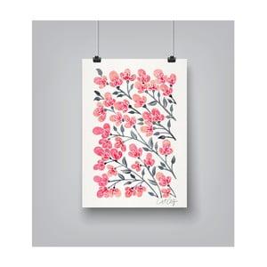 Plakát Americanflat Cherry Blossoms, 30x42cm