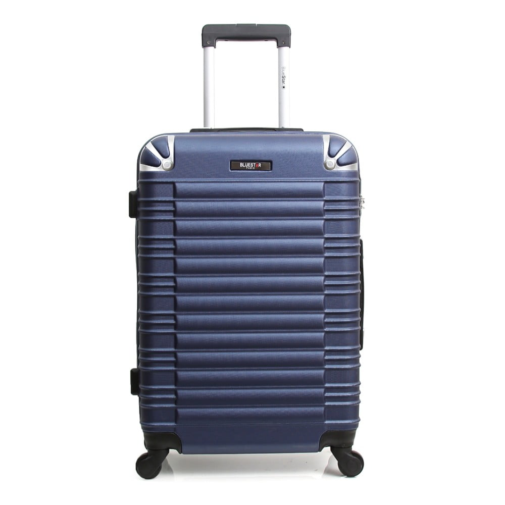 Tmavě modrý cestovní kufr na kolečkách Blue Star Lima, 31 l