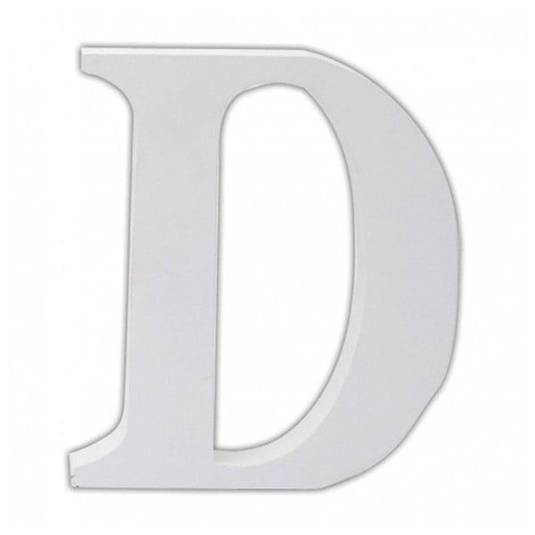 Dřevěné písmeno D