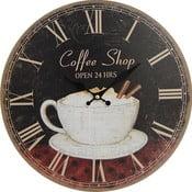 Nástěnné hodiny Coffee Shop