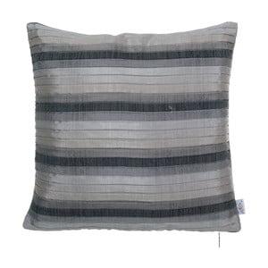 Plisovaný povlak na polštář Apolena, šedý