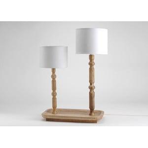 Dvojitá stolní lampa On Tray