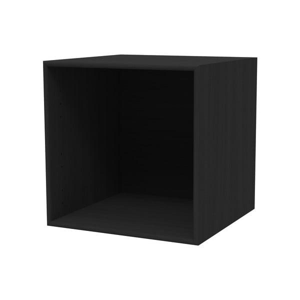 Raft WOOD AND VISION Choice, 39,7 x 39,7 x 38,4 cm, negru