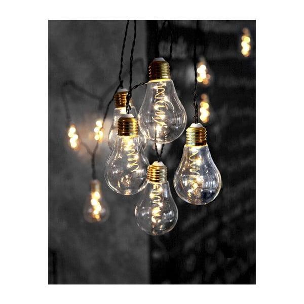 Světelný LED řetěz Best Season Bulbs, 10 světýlek