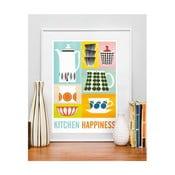 Plakát Kitchen Happines