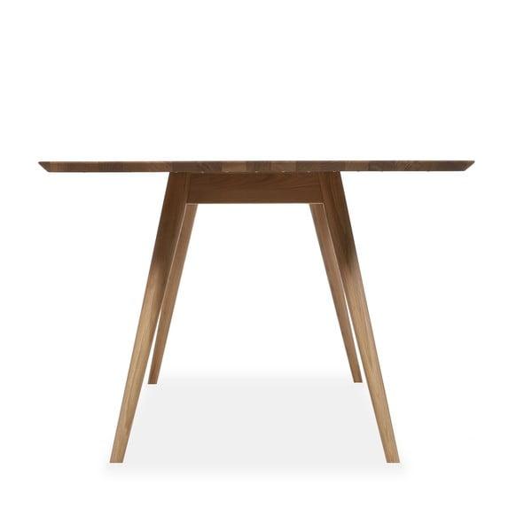 Jídelní stůl z dubového dřeva Gazzda Stafa, 140x90x75,5cm
