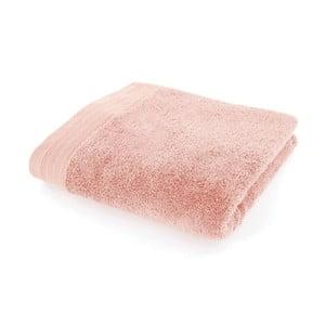 Lososově růžový bavlněný ručník Kate, 50x90cm