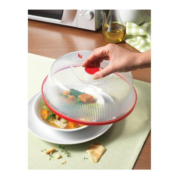 Poklop na ohřívání pokrmů v mikrovlnce Snips Cover