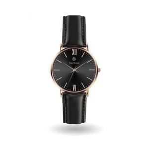 Pánské hodinky s koženým páskem Paul McNeal Basso