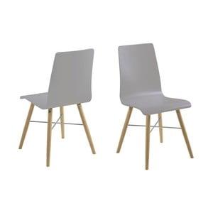 Šedá jídelní židle Actona Milton