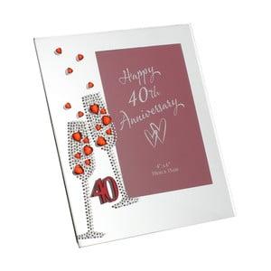 Rámeček na fotografii k 40. výročí Celebrations, profotografii10x15cm