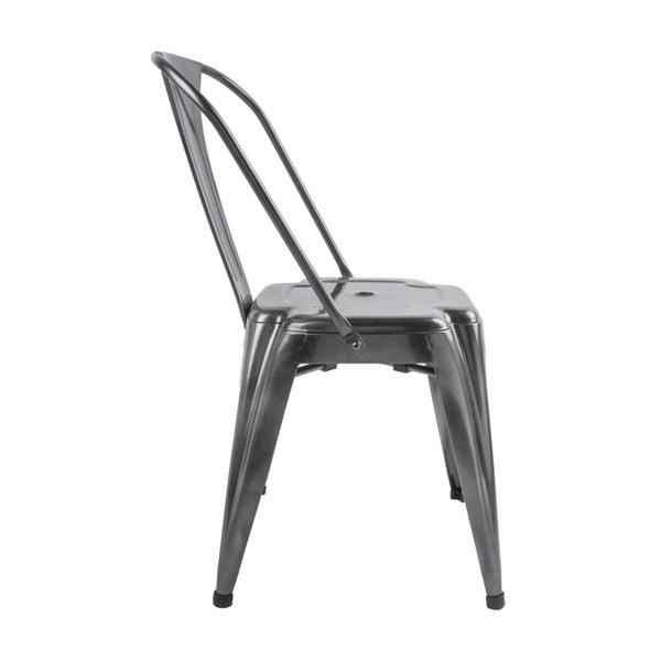 Židle v šedé barvě Leitmotiv Dazzle