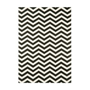 Koberec Asiatic Carpets Onix Zig Zag Mono, 120x170 cm