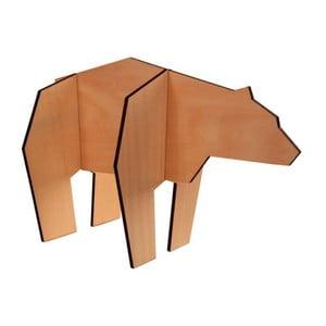 Dřevěná figurka ve tvaru medvěda Vox Kids