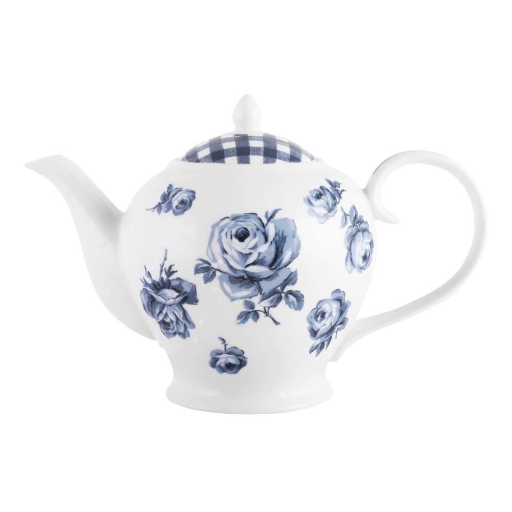 Porcelánová čajová konvice Creative Tops Vintage Indigo, 1,2 l