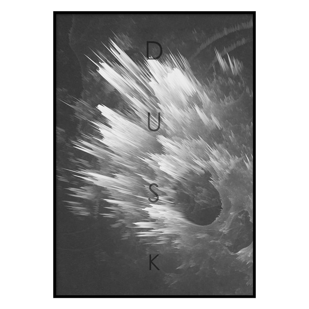 Plakát DecoKing Explosion Dusk, 50 x 40 cm