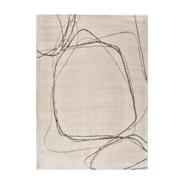 Moana Treo krémszínű szőnyeg, 120 x 170 cm - Universal