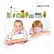 Samolepka Village 28x31 cm