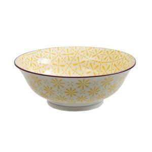 Porcelánová miska Soba Yellow, 21x7,8 cm