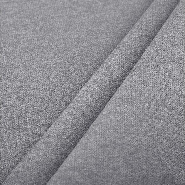 Tmavě šedá třímístná rozkládací pohovka Cosmopolitan Design Bristol