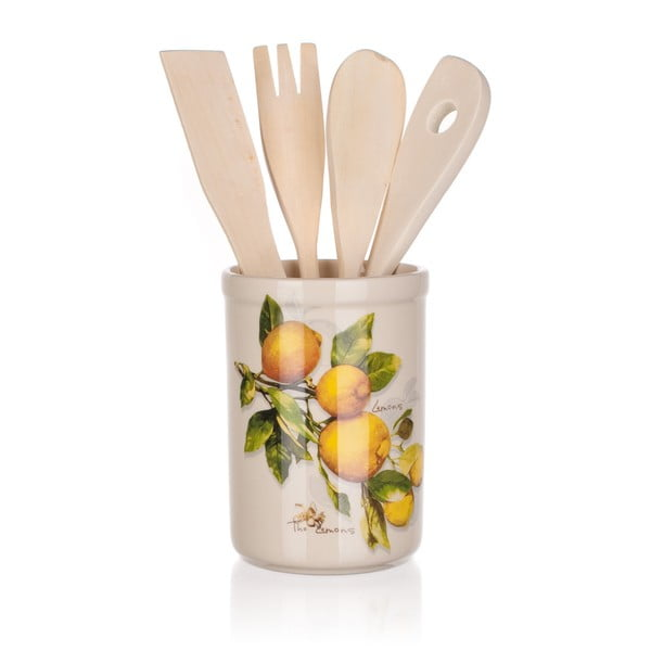 Sada kuchyňského nářadí Banquet Lemon, 5ks