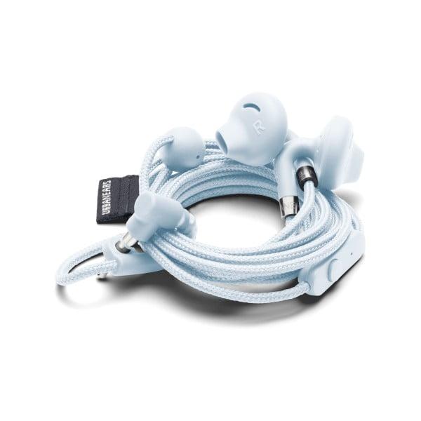 Căști audio In-Ear cu microfon Urbanears SUMPAN Snow Blue, albastru deschis