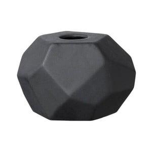 Svícen Geometrico Negro