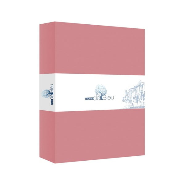Prostěradlo Home de Blue 160x200 cm, pink