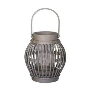 Bambusová lucerna Gris, 15x13