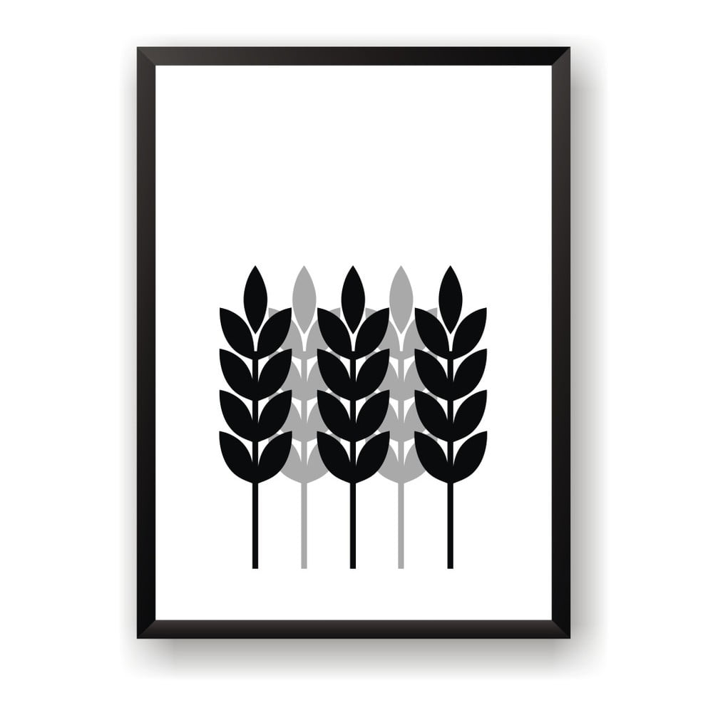poster nord co corn 50 x 70 cm bonami. Black Bedroom Furniture Sets. Home Design Ideas