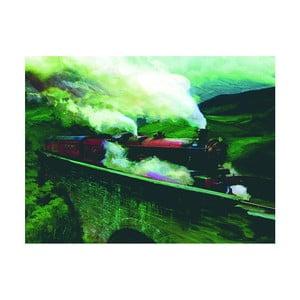 Obraz Pyramid International Harry Potter Hogwarts Express Landscape, 60 x 80 cm