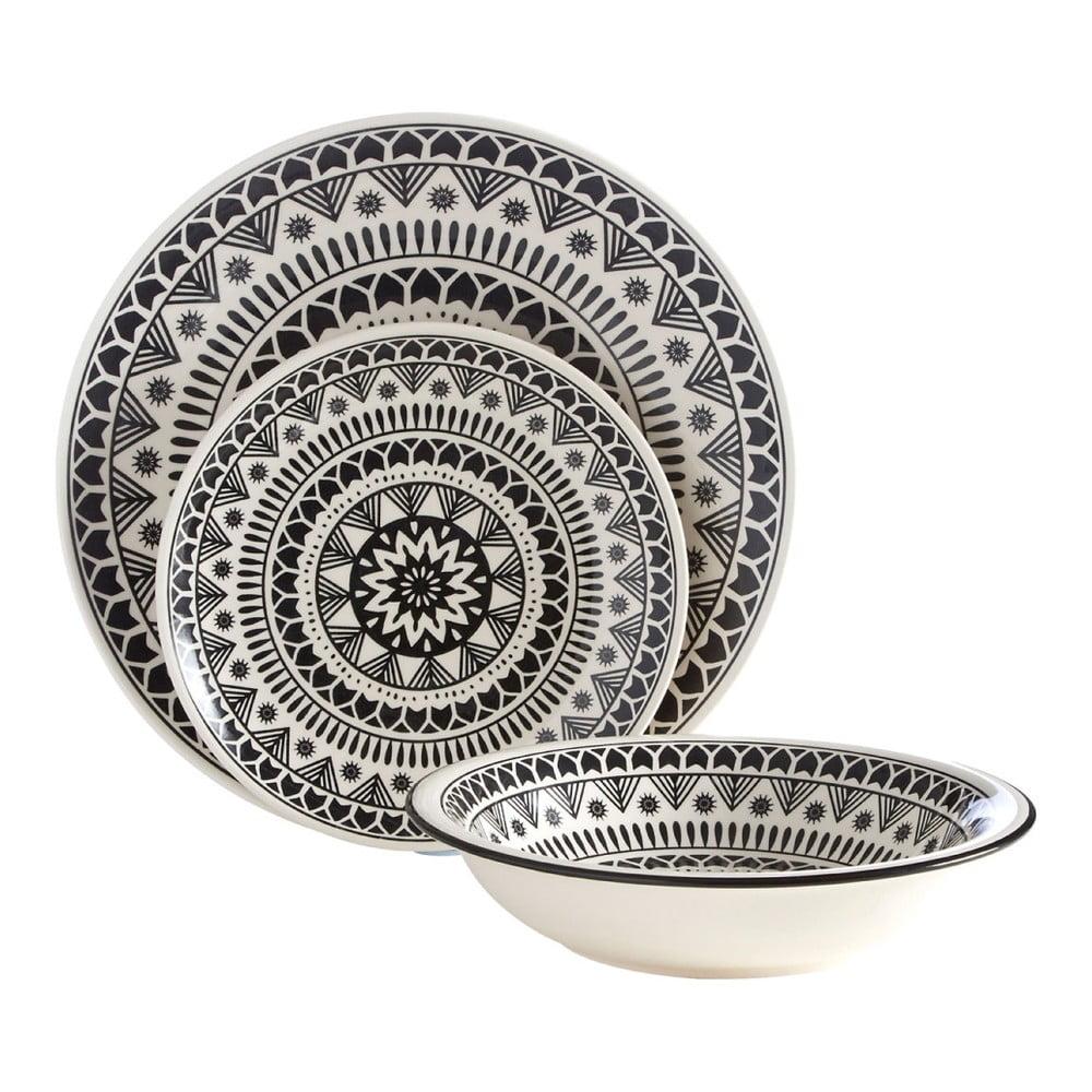 12dílná sada talířů Premier Housewares Maie
