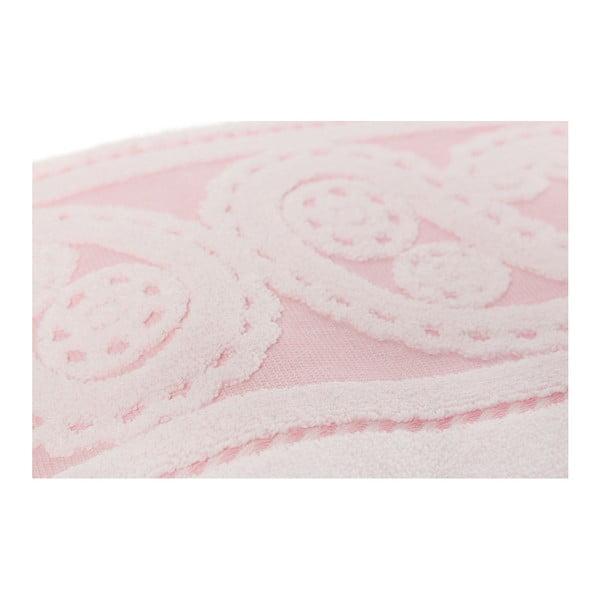 Sada 2 růžových ručníků Hurrem, 50x90cm