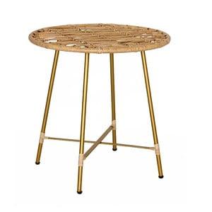 Ratanový odkládací stolek WOOX LIVING Simple