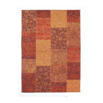 Covor Flair Rugs Patchwork Chennile Terracotta, 155 x 230 cm, roșu de la Flair Rugs