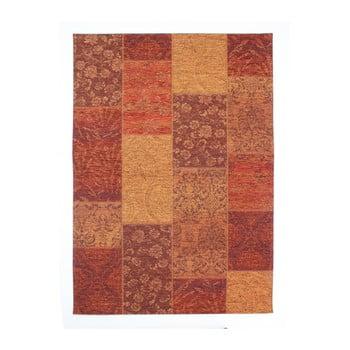 Covor Flair Rugs Patchwork Chennile Terracotta, 155 x 230 cm, roșu de la Flair Rugs
