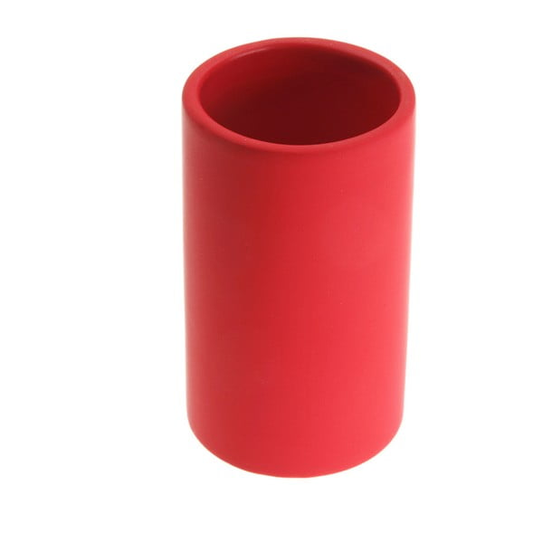 Červený kelímek na kartáčky Versa Clargo