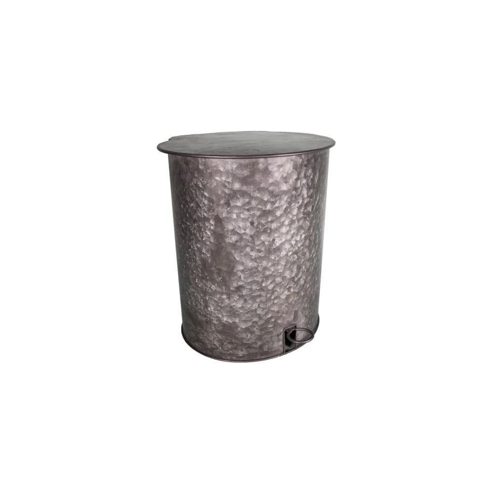 Odpadkový koš ze zinku Antic Line Poubelle