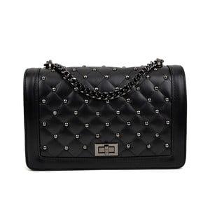 Černá kožená kabelka Isabella Rhea Domenico