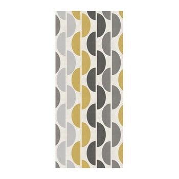 Covor Floorita Halfmoon Grey Ochre, 60 x 115 cm de la Floorita