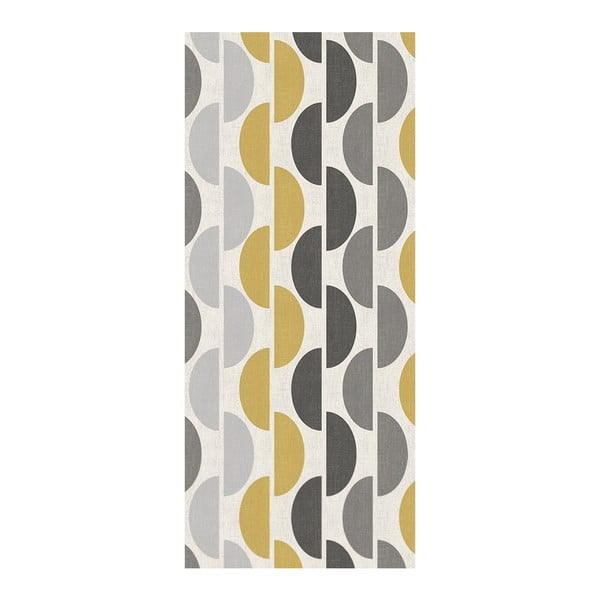 Covor Floorita Halfmoon Grey Ochre, 60 x 140 cm